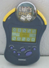 Electronic Handheld Game- Liar's Dice by Radica model 3663 -Tested WORKS