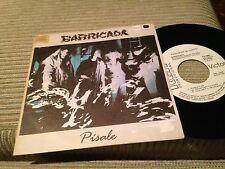 "BARRICADA - PISALE 7"" SINGLE PROMOCIONAL - HARD ROCK"