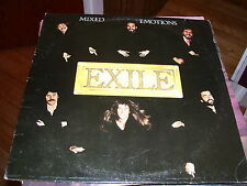 EXILE-MIXED EMOTIONS-LP-VG+-WARNER BROTHERS-KISS YOU ALL OVER