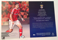 2016 Topps UEFA Champions League 5x7 GOLD (#/10 Made) JARDEL SL Benfica #55