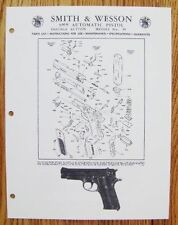 Smith & Wesson 9MM Automatic Pistol - Model 59 Manual - #SW24