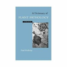 A Dictionary of Plant Pathology