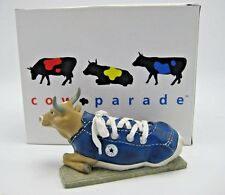 Cows on Parade Converse Blue Sneaker MooShoe Retired Figurine