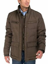 Luciano Natazzi Men's Patton Four-Pocket Quilted Puffer Jacket
