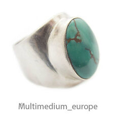 Ring Silber Türkis Desing er offen Sterling 925  silver turquoise