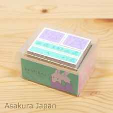 Pokemon Center Original Goomy Damono Stamp set From Japan