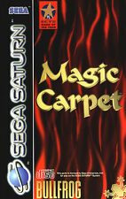 ## Magic Carpet (mit OVP) - SEGA SATURN Spiel - TOP ##