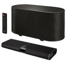 JVC TH-WL311B 2.2 TV SOUND BAR SPEAKER 120W WIRELESS SUBWOOFER BLUETOOTH NFC