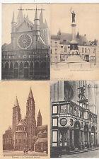 Lot 4 cartes postales anciennes BELGIQUE TOURNAI 11