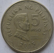 Philippines 5 Piso 2005 coin
