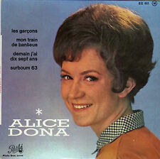 ALICE DONA LES GARCONS FRENCH ORIG EP JO MOUTET