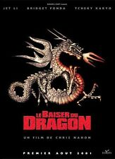 Affiche 120x160cm LE BAISER MORTEL DU DRAGON (KISS OF THE DRAGON) 2001 Jet Li TB