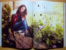 F(X) Krystal K POP/Cuttings 12P--Magazine Clippings/ELLE Korea/October 2016