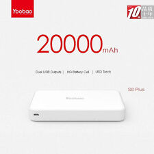 New Yoobao YB-M20 20000mAh Dual USB Portable Battery Power Bank