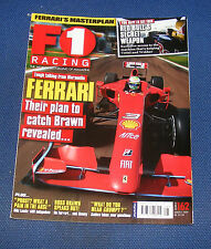 F1 RACING AUGUST 2009 - FERRARI THEIR PLAN TO CATCH BRAWN REVEALED