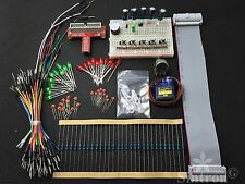 Sintron Raspberry Pi B Starter Kit GPIO Extension Board Micro Servo Sidekick LED