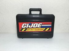 GI Joe Brief Case With Toy Gun Inside For 12 Inch A.F. Very Cool!