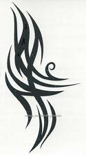 TRIBAL DESIGN FLAMES R654 Temporary Tattoo AWESOME