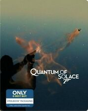 Quantum of Solace 007: Limited Edition Steelbook (Blu-ray + Digital HD)