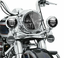 """36W 7"""" LED Daymaker Projector Headlight & 4.5"""" Passing Light For Harley Davidson"""