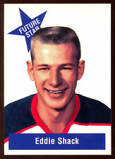 1994-95 1956-57 PARKHURST MISSING LINK EDDIE SHACK FUTURE STAR FS-4 N Y RANGERS