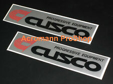 "2x 6"" 15.2cm Cusco sticker decal JDM for atenza protege 5 lancer eclipse BRZ 86"