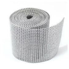 Trimmable Ribbon Bendable Diamond Mesh Wrap Roll Rhinestone Be Cut To Shape G30