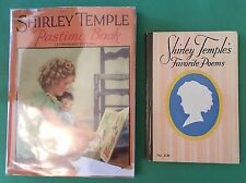 Shirley Temple Books Lot 4, 2 Vintage Hardcover Books