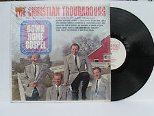 "The Christian Troubadours ""Down Home Gospel"" vinyl LP Scripture 123 MODESTO, CA"