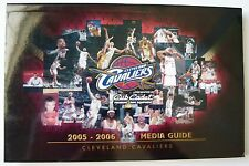 Cleveland Cavaliers 2005-06 Media Guide NBA Quicken Loans Arena LeBron James MNT