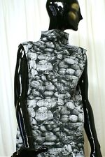 "ISSEY MIYAKE for PLEATS PLEASE ""Fortuny"" Pleated High Necked Sleeveless Shell"