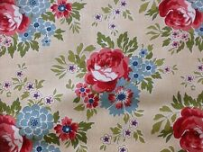 Fat Quarter For Your Love Floral In Yellow 7774 Makower Cotton Quilting Fabric