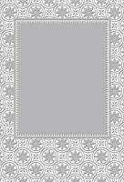 CO723163 CABARET  5x7 Embossing Folder - retired works with Cuttlebug, Sizzix,