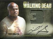 WALKING DEAD SEASON 3 PART 1 Autograph Wardrobe Card by IronE Singleton AM4