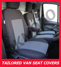 Tailored Coprisedili Per FORD TRANSIT CUSTOM 2 + 1 grey2