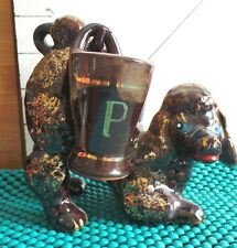S & P, Poodle ,Made in Japan, DogHolding Shakers, Kitchen Wares, Home Decor