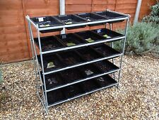 Revolutionary Adjustable Heavy Duty Greenhouse Staging Racking
