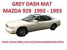 GREY DASH MAT, DASHMAT, DASHBOARD COVER FIT MAZDA 929  1992 - 1993 GREY