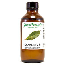 4 fl oz Clove Leaf Essential Oil (100% Pure & Natural) - GreenHealth