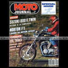 MOTO JOURNAL N°915 VX 800 SUZUKI TSR 125 KAWASAKI KMX 125 YAMAHA DTR 125 1989