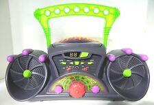 VTG Nickelodeon CD Blast Box 1996 Boom AM/FM Radio Slime Time Blaster Nick N9000