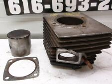 Ski Doo TNT 440 Snowmobile Engine R/Mag Cylinder and Piston Assembly T'NT F/C