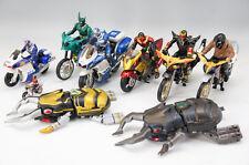 KAMEN RIDER Bike Figure Set w/2 GOURAMU AS-IS Free Shipping 618z06