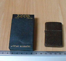 Zippo 1996 Experimental Gold/Brown Vein Finish.