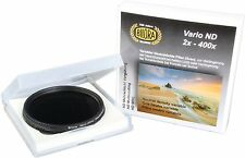 Bilora Vario ND Graufilter Filter ND 2x - ND 400x Variable ND 72mm 72    NEUWARE