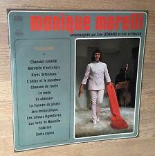 33 tours Monique Morelli Chanson canaille Marseille d'autrefois..1968 comme NEUF