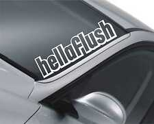 Hellaflush Windscreen Sticker JDM Drift Car Slammed Lowered Dub VW m28