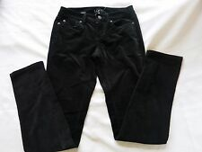 Ann Taylor Loft Modern Skinny Jeans Sz 2 Cotton Velour Black Stretch $59.99 NWT