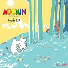 2017 Moomin Calendar New Paperback Free UK Post