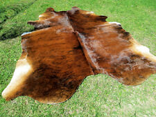 GORGEOUS NEW Cowhide Rug natural Cowhides Rugs Cow Hide Skin Hides R2153 A6